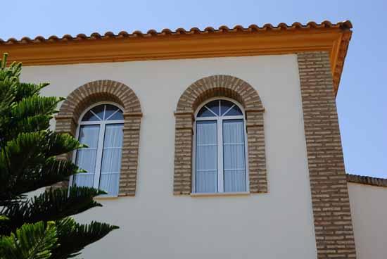 Ladrillo r stico coriano - Arcos de ladrillo rustico ...